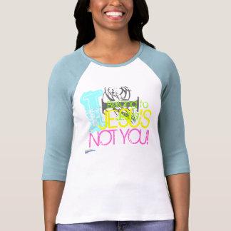 CCS, I belong to JESUS NOT YOU! Women's 3/4 sleeve T-shirts