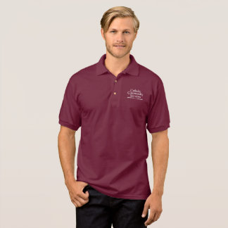 CCS Men's Burgundy Polo