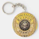 ccw badge design key chains