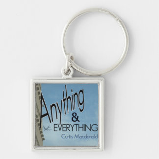 """CD Cover Art """"Anything & Everything"""" Keychains"""