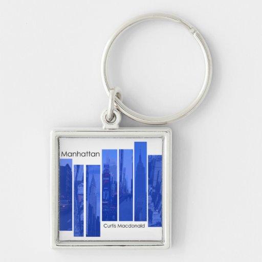 "CD Cover Art ""Manhattan"" Keychains"