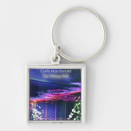 "CD Cover Art ""The Wishing Well"" Keychain"