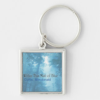 """CD Cover Art """"Within This Mist of Blue"""" Keychains"""