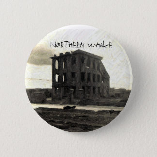 CD COVER, Northern Whale 6 Cm Round Badge