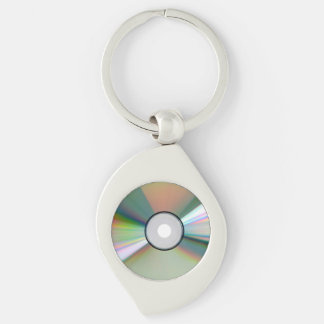 """""""CD"""" design gifts and products Key Ring"""
