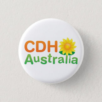 CDH Australia 3 Cm Round Badge