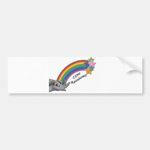 CDH Rainbows Bumper Sticker
