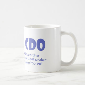 CDO COFFEE MUG