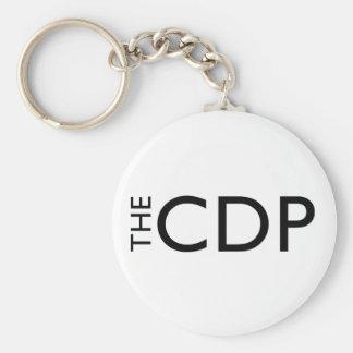 CDP Classic White Key Chain