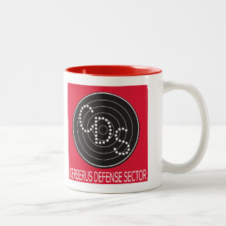 CDS Bodyguard School Mug-Fool's Gold CA Two-Tone Coffee Mug