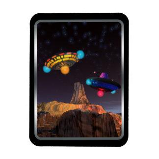 CE3K UFOs V2 Rectangular Photo Magnet
