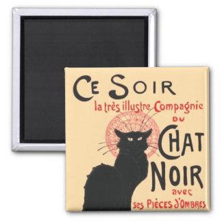 Ce Soir Le Chat Noir, Théophile Steinlen Magnet