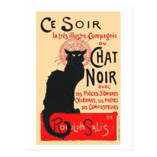 Ce Soir Le Chat Noir, Théophile Steinlen Post Card