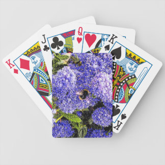 Ceanothus Flower Bee Photo Bicycle Playing Cards