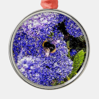 Ceanothus Flower Bee Photo Christmas Ornament