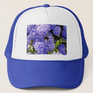 Ceanothus Flower Bee Trucker Hat