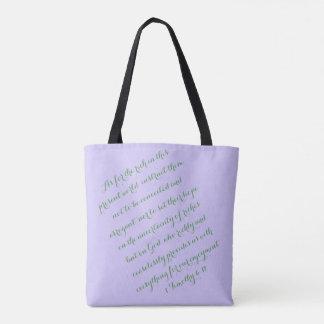 Ceaselessly Purple Globe Tote Bag