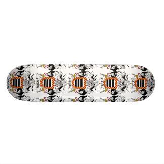 Ceballos Family Crest 20.6 Cm Skateboard Deck