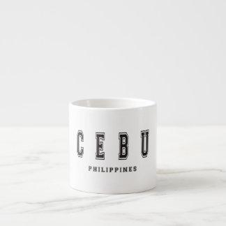 Cebu Philippines Espresso Mug