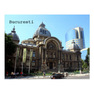 CEC Palace in Bucharest Postcard