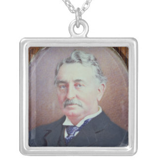 Cecil Rhodes Silver Plated Necklace