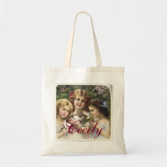 Cecily Easter/ Spring Tote - Personalised