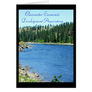 CEDA - Clearwater River Vertical Greeting Card