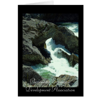 CEDA - Selway Falls 2 Greeting Card