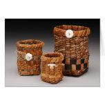 Cedar Bark Baskets