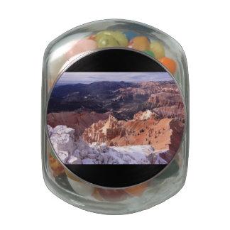 Cedar Breaks Glass Jar