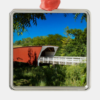 Cedar  Bridge Christmas Ornament