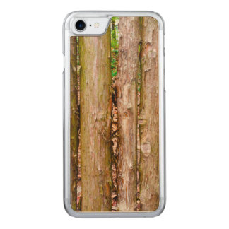 Cedar Fence Carved iPhone 8/7 Case