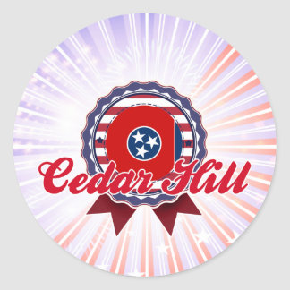 Cedar Hill, TN Sticker