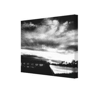 Cedar Key Florida Sunset 2 Canvas Print