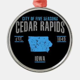 Cedar Rapids Christmas Ornament