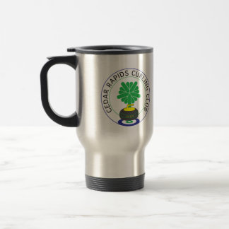 Cedar Rapids Curling Club Stainless Steel Travel Mug