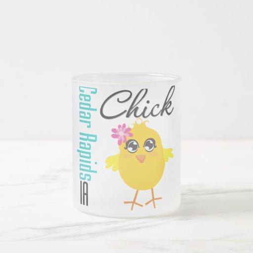 Cedar Rapids IA Chick Mug