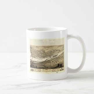 Cedar Rapids, Iowa in 1868 Basic White Mug