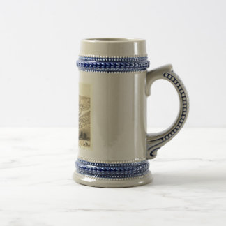 Cedar Rapids, Iowa in 1868 Beer Steins