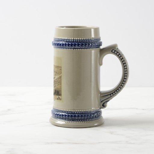 Cedar Rapids, Iowa in 1868 Coffee Mug