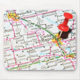 Cedar Rapids, Iowa Mouse Mat