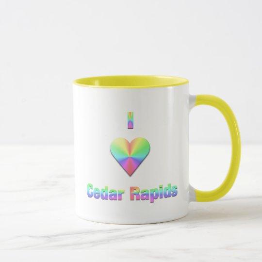 Cedar Rapids -- Pastels Mug