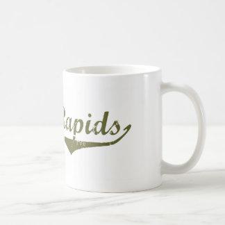 Cedar Rapids Revolution t shirts Basic White Mug