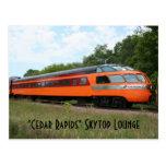 """""""Cedar Rapids"""" Skytop Lounge Postcard"""