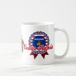 Cedar Rapids, WI Basic White Mug