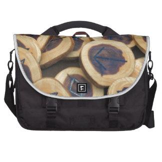 Cedar Runes Laptop Messenger Bag