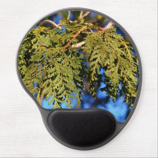 Cedar Tree Leaves Gel Mouse Pad