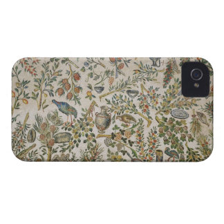 Ceiling decoration with flowers and birds (mosaic) iPhone 4 covers