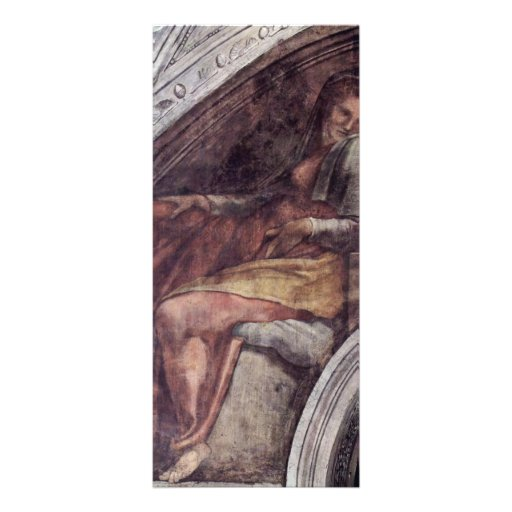 Ceiling Fresco For The Story Of Creation In The Rack Cards