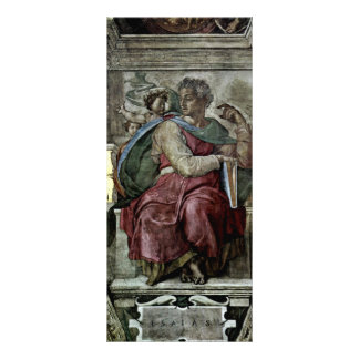Ceiling Fresco For The Story Of Creation In The Si Rack Card Template